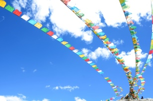 Prayer Flags at Base Camp