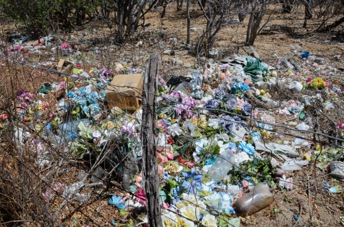 Flower cemetery