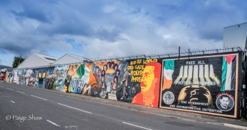 Belfast International Solidarity Wall