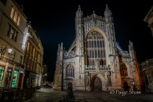 Nightfall on the Abbey