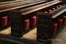 Pews in Bath Abbey