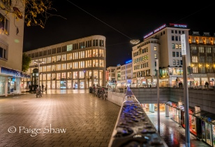 Hannover at night