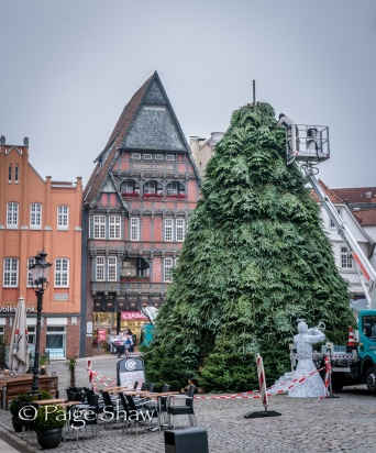 Christmas time in Minden, Germany