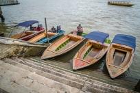 Boat Landing Water Village Brunei