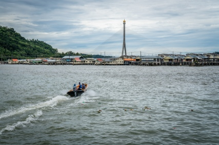 Taxi Delivery Kampong Ayer Water Village