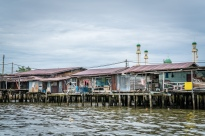 Homes at Kampong Ayer Water Village