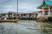 Taxi Kampong Ayer Water Village