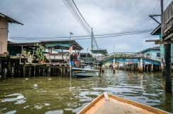 Boat View Kampong Ayer Water Village