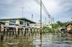 Kampong Ayer Water Village Mosque