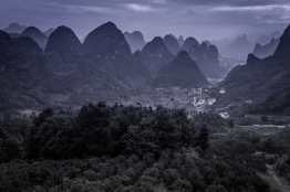 foggy-karst-guilin-china