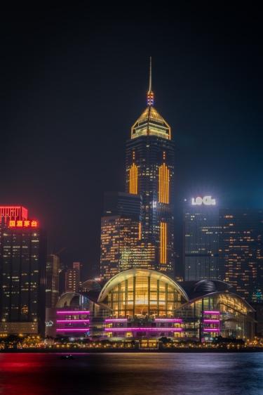 hong-kong-island-convention-center-night-photography