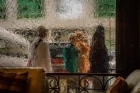 View thru the waterfall window