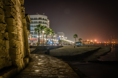 night-scene-larnaca-cyprus