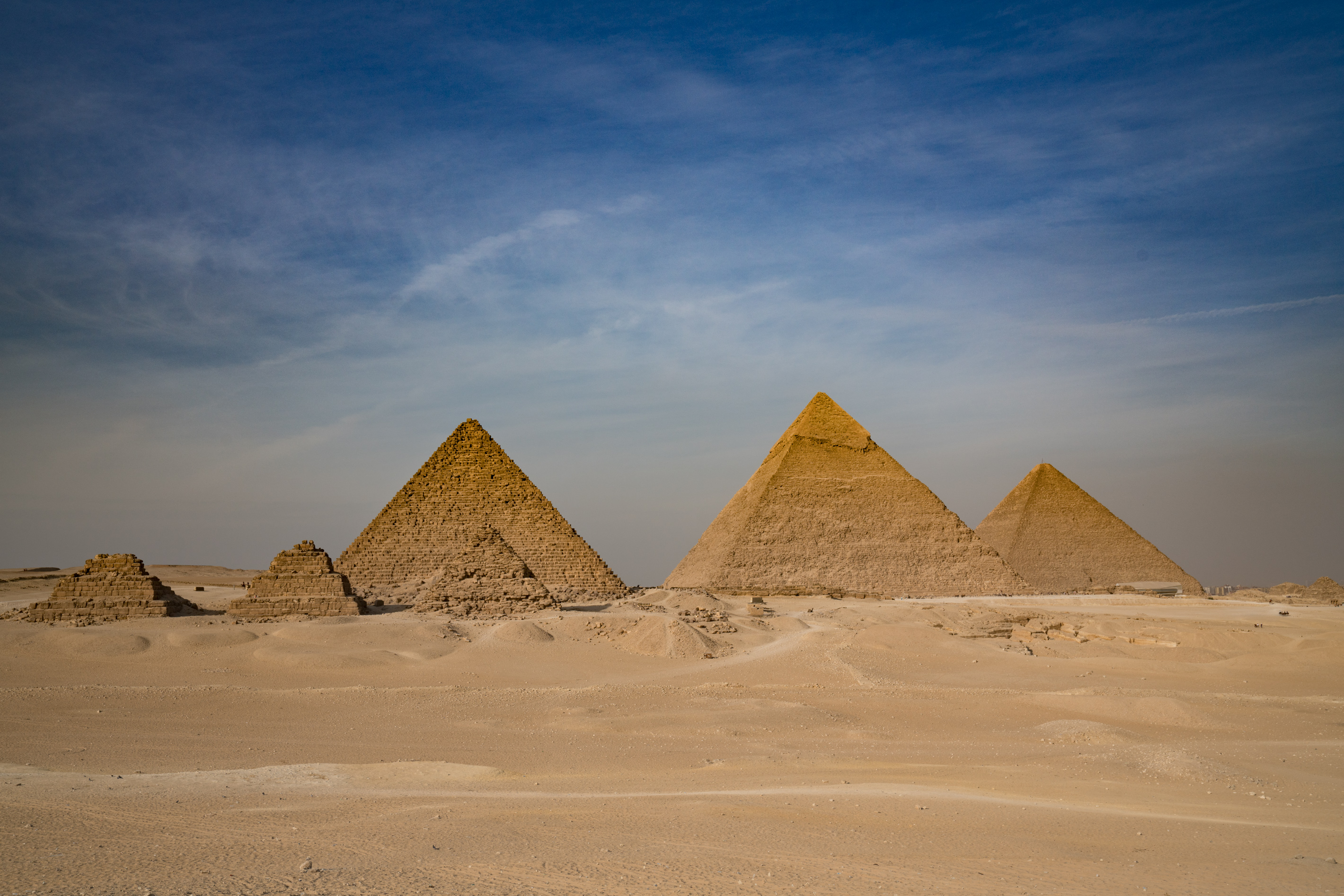 seven-pyramids-giza-egypt | Zigzagging with Bill and Paige