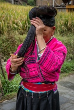 yao-woman-long-hair-dazhai-guilin-china-32