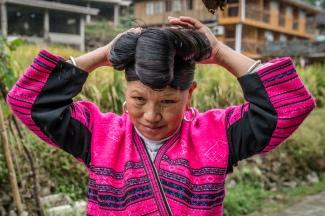 yao-woman-long-hair-dazhai-guilin-china-38
