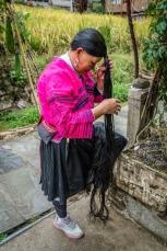 yao-woman-long-hair-dazhai-guilin-china