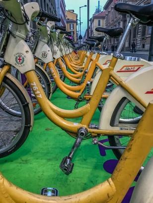 bicycles-milan-italy