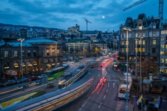 busy-sunset-street-lights-nightscape-zurich