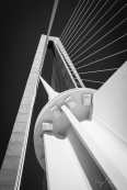 looking-up-ravenel-bridge-black-white
