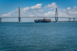 ravenel-bridge-container-ship