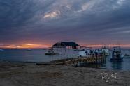 sunrise-sea-cortez-beach-dock
